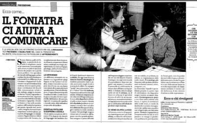 Il foniatra ci aiuta a comunicare – TV SORRISI E CANZONI SALUTE Dicembre 2012