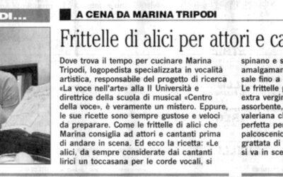 A cena da Marina Tripodi – Il Mattino