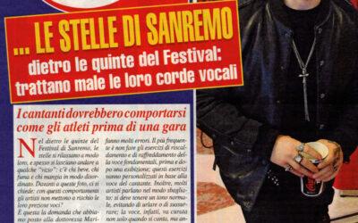 Le Stelle di Sanremo, dietro le quinte del festival